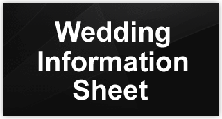 Wedding Information Sheet Button ron rutz wedding dj